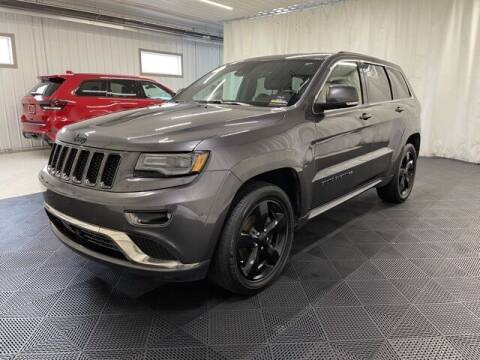 2016 Jeep Grand Cherokee for sale at Monster Motors in Michigan Center MI
