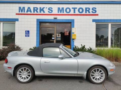 2000 Mazda MX-5 Miata for sale at Mark's Motors in Northampton MA