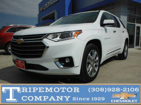 2020 Chevrolet Traverse for sale at Tripe Motor Company in Alma NE