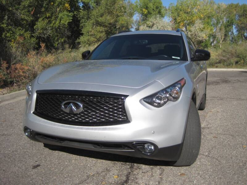 2017 Infiniti QX70 for sale at Pollard Brothers Motors in Montrose CO