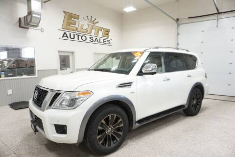 2017 Nissan Armada for sale at Elite Auto Sales in Ammon ID