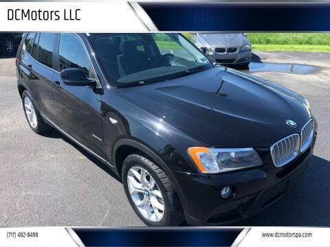 2014 BMW X3 for sale at DCMotors LLC in Mount Joy PA