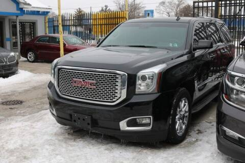 2015 Cadillac Escalade ESV for sale at F & M AUTO SALES in Detroit MI