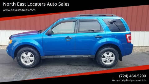 2012 Ford Escape for sale at North East Locaters Auto Sales in Indiana PA