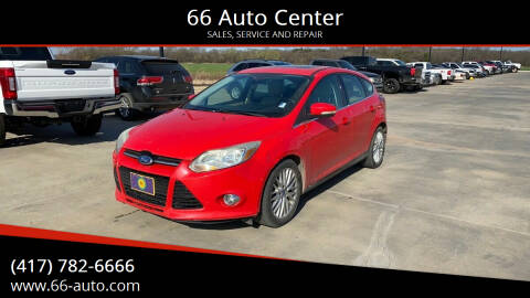 2012 Ford Focus for sale at 66 Auto Center in Joplin MO