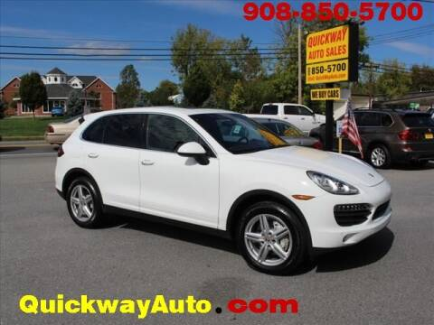 2013 Porsche Cayenne for sale at Quickway Auto Sales in Hackettstown NJ