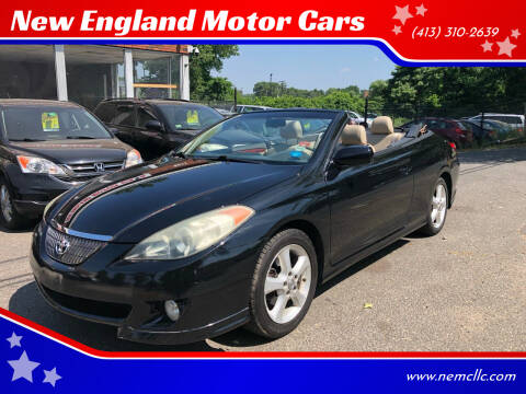 2006 Toyota Camry Solara for sale at New England Motor Cars in Springfield MA