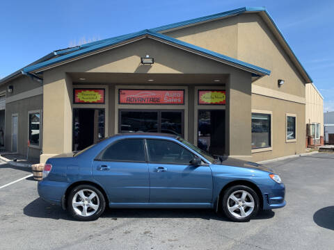 2007 Subaru Impreza for sale at Advantage Auto Sales in Garden City ID