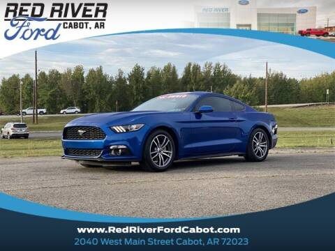 2017 Ford Mustang for sale at RED RIVER DODGE - Red River of Cabot in Cabot, AR