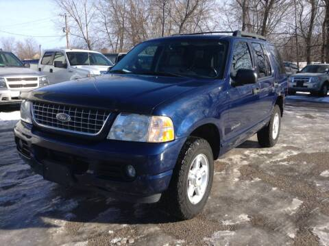 2005 Ford Explorer for sale at Steves Auto Sales in Cambridge MN