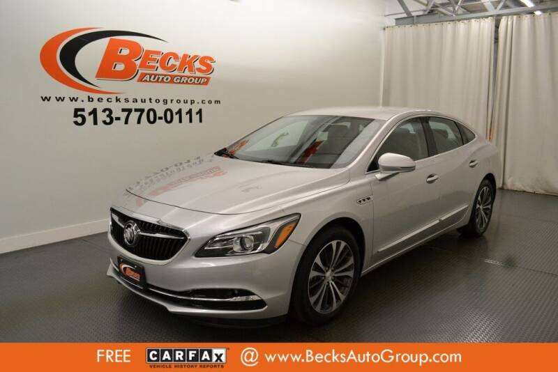 2017 Buick LaCrosse for sale at Becks Auto Group in Mason OH