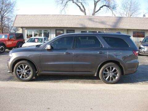 2017 Dodge Durango for sale at Greens Motor Company in Forreston IL