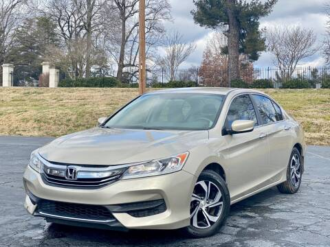 2016 Honda Accord for sale at Sebar Inc. in Greensboro NC