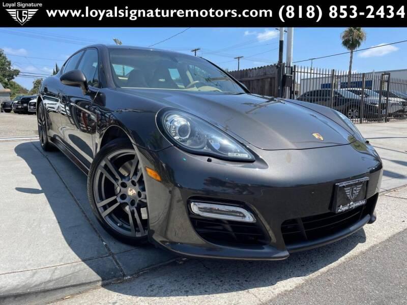 2013 Porsche Panamera for sale at Loyal Signature Motors Inc. in Van Nuys CA