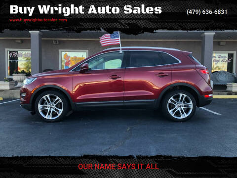 2015 Lincoln MKC for sale at Buy Wright Auto Sales in Rogers AR