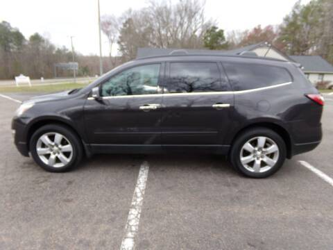 2016 Chevrolet Traverse for sale at West End Auto Sales LLC in Richmond VA