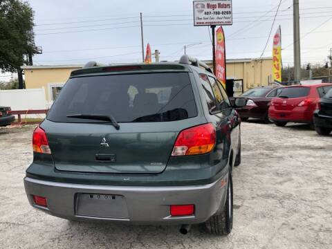 2004 Mitsubishi Outlander for sale at Mego Motors in Orlando FL