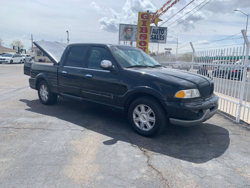 2002 Lincoln Blackwood for sale at Robert B Gibson Auto Sales INC in Albuquerque NM