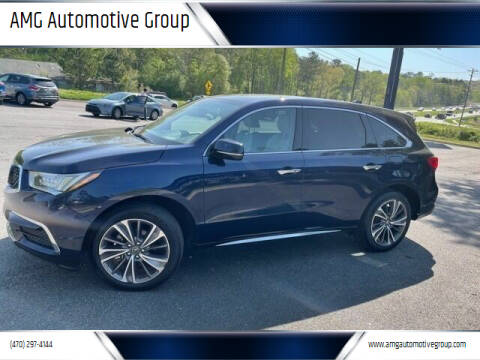 2019 Acura MDX for sale at AMG Automotive Group in Cumming GA