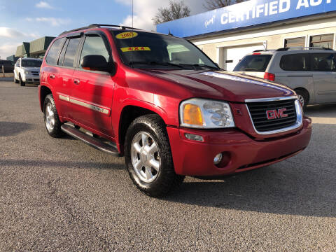 2005 GMC Envoy for sale at Perrys Certified Auto Exchange in Washington IN