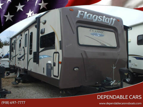 2012 Flagstaff CLASSIC Super Lite for sale at DEPENDABLE CARS in Mannford OK