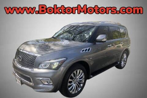 2015 Infiniti QX80 for sale at Boktor Motors in North Hollywood CA