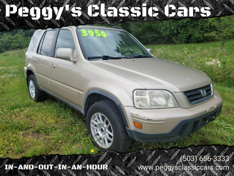 2001 Honda CR-V for sale at Peggy's Classic Cars in Oregon City OR