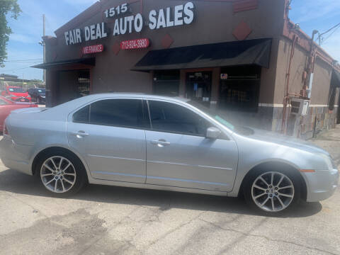 2009 Ford Fusion for sale at FAIR DEAL AUTO SALES INC in Houston TX
