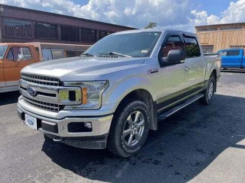 2018 Ford F-150 for sale at SCHURMAN MOTOR COMPANY in Lancaster NH