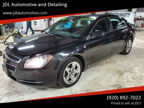 2008 Chevrolet Malibu for sale at JDL Automotive and Detailing in Plymouth WI