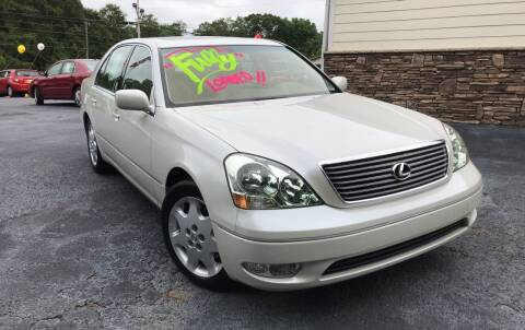 2001 Lexus LS 430 for sale at No Full Coverage Auto Sales in Austell GA