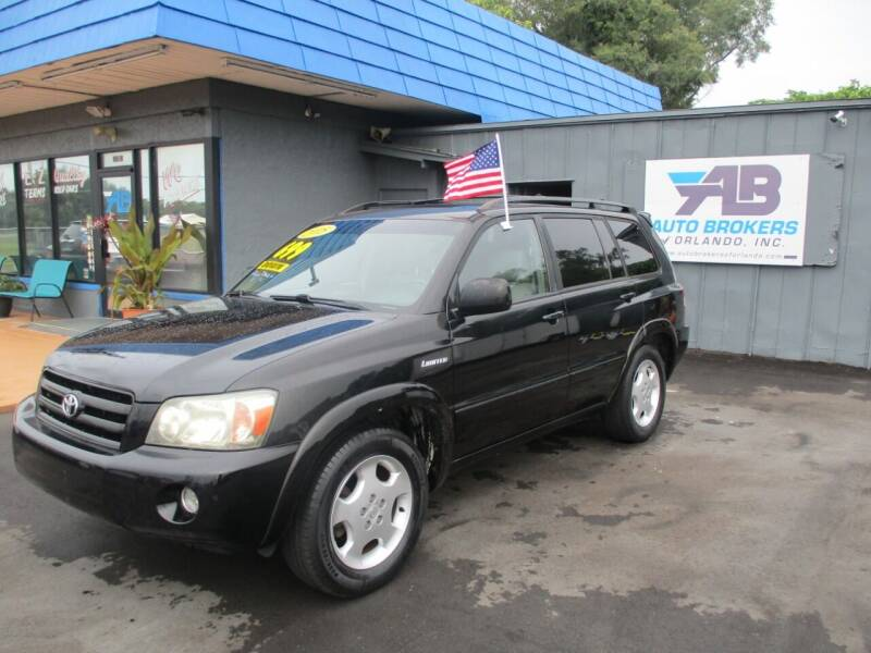 2005 Toyota Highlander for sale at AUTO BROKERS OF ORLANDO in Orlando FL