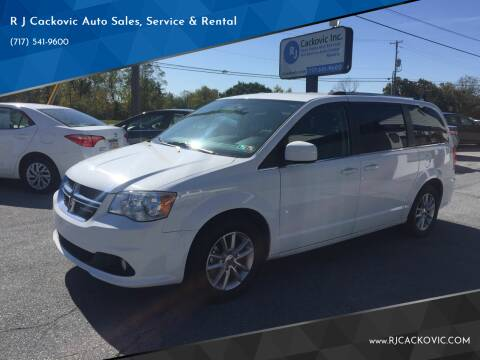 2018 Dodge Grand Caravan for sale at R J Cackovic Auto Sales, Service & Rental in Harrisburg PA