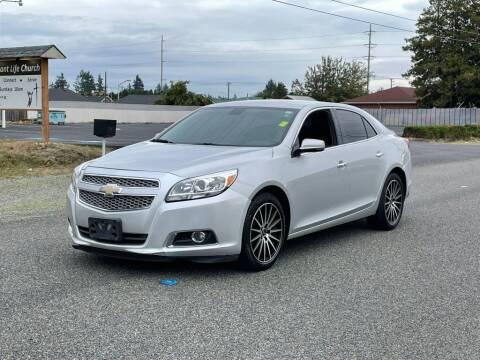 2013 Chevrolet Malibu for sale at Baboor Auto Sales in Lakewood WA