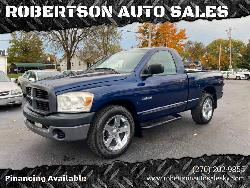 2008 Dodge Ram Pickup 1500 for sale at ROBERTSON AUTO SALES in Bowling Green KY