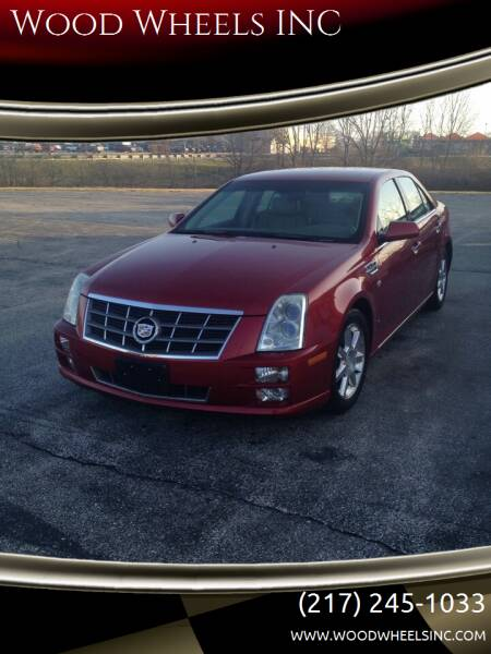2008 Cadillac STS for sale at Wood Wheels INC in Jacksonville IL