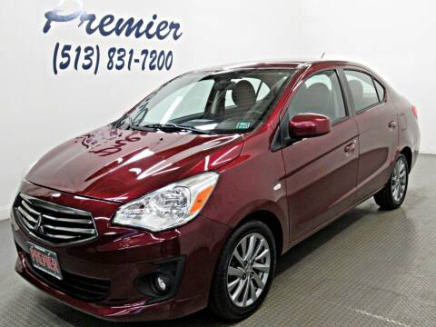 2018 Mitsubishi Mirage G4 for sale at Premier Automotive Group in Milford OH