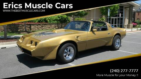 1979 Pontiac Trans Am for sale at Erics Muscle Cars in Clarksburg MD