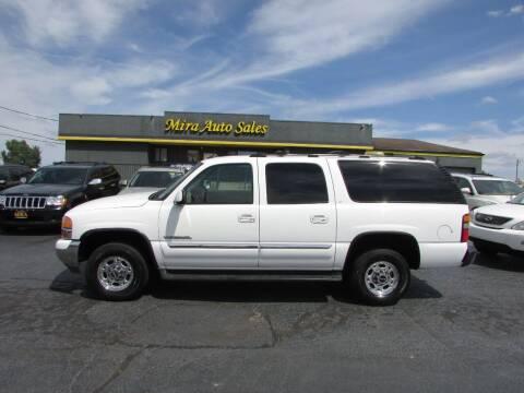 2004 GMC Yukon XL for sale at MIRA AUTO SALES in Cincinnati OH