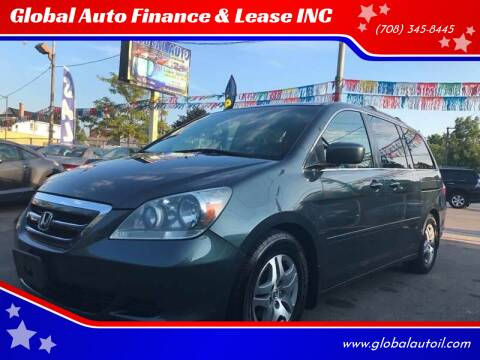 2005 Honda Odyssey for sale at Global Auto Finance & Lease INC in Maywood IL