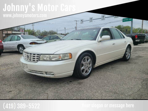 2003 Cadillac Seville for sale at Johnny's Motor Cars in Toledo OH