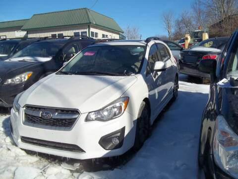 2013 Subaru Impreza for sale at Warner's Auto Body of Granville Inc in Granville NY