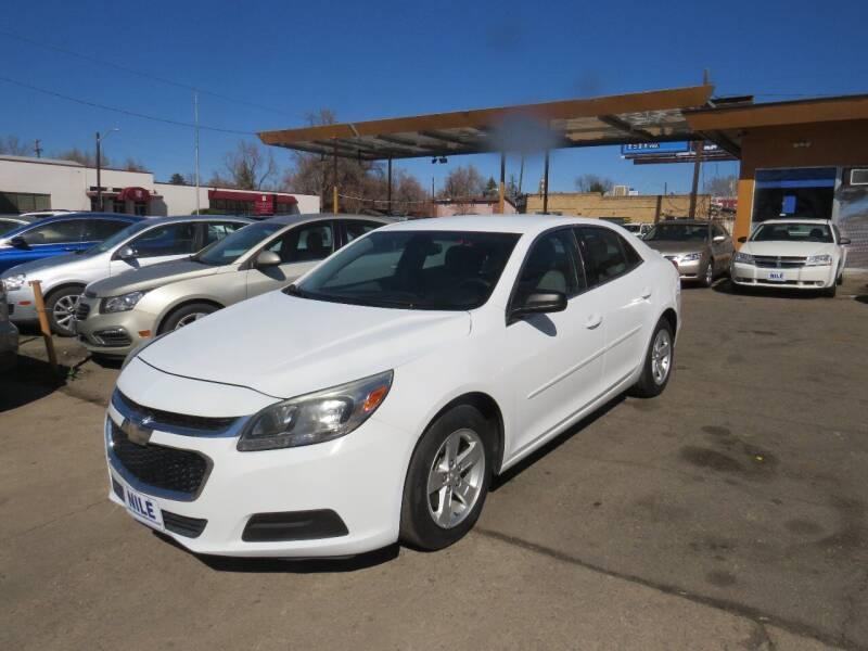 2015 Chevrolet Malibu for sale at Nile Auto Sales in Denver CO
