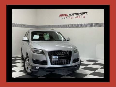2011 Audi Q7 for sale at Royal AutoSport in Sacramento CA