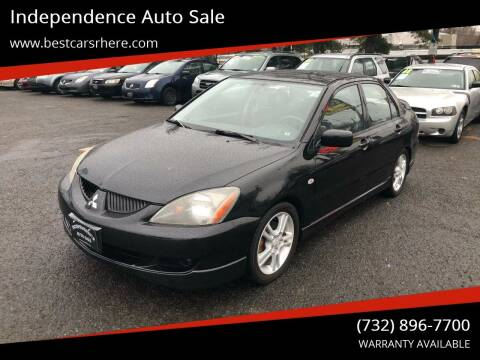 2004 Mitsubishi Lancer for sale at Independence Auto Sale in Bordentown NJ