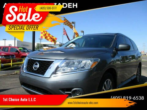2014 Nissan Pathfinder for sale at 1st Choice Auto L.L.C in Oklahoma City OK