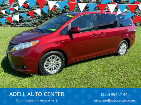 2011 Toyota Sienna for sale at ADELL AUTO CENTER in Waldo WI