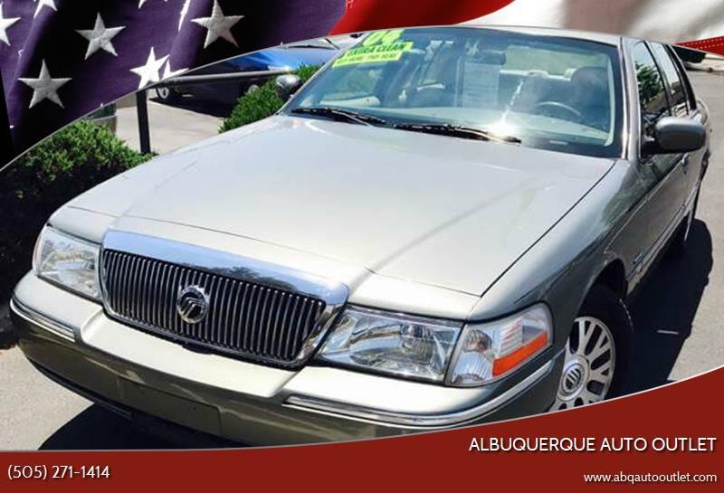 2004 Mercury Grand Marquis for sale at ALBUQUERQUE AUTO OUTLET in Albuquerque NM
