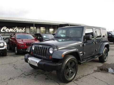 2008 Jeep Wrangler Unlimited for sale at Central Auto in South Salt Lake UT