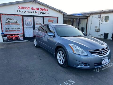 2012 Nissan Altima for sale at Speed Auto Sales in El Cajon CA
